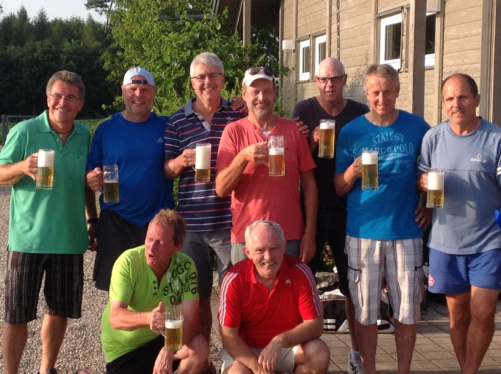 Günther, Christian, Harry, Wolfgang, Wolfgang, Peter, Schose Käse und Walter